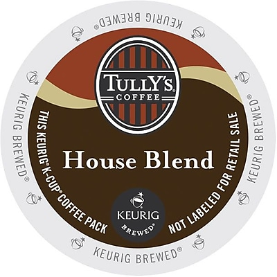 Tully's Coffee House Blend Coffee K-Cups, 96/Carton (192919) GMT192919CT
