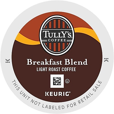 Tully's Coffee Breakfast Blend Coffee K-Cups, 96/Carton (192719) GMT192719CT