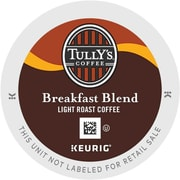 Tully's Coffee® Breakfast Blend Coffee K-Cups®, 96/Carton (192719)