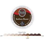 Tully's Coffee® Italian Roast Coffee K-Cups®, Italian Roast, 96/Carton (193019)