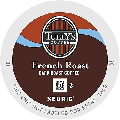 Keurig® K-Cup® Tully's Coffee® French Roast Extra Bold Coffee, 96 Count