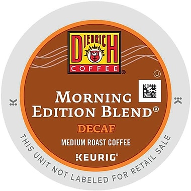 Keurig® K-Cup® Diedrich Morning Edition Blend Coffee, Decaffeinated, 24/Pack