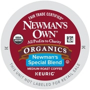 Keurig® K-Cup®Newman's Own® Organics Special Blend Medium Roast Coffee, 96/Ct