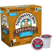 Keurig® Newmans Own Organic Blend Coffee, K-Cup® Pods, 18/Bx