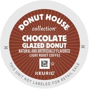 Donut House™ Chocolate Glazed Donut™ K-Cups®, 96/Carton (6722)