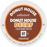 Keurig® K-Cup® Donut House® Coffee, Decaffeinated, 96/Pack