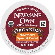 Newman's Own® Organics Special Decaf Coffee K-Cup®, 24/Box