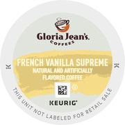 Gloria Jean's® French Vanilla Supreme Coffee K-Cups®, 96/Carton (DIE-60051046)