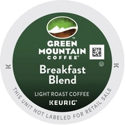 Green Mountain® Breakfast Blend Coffee, Keurig® K-Cup® Pods, Light Roast, 48/Box (81909)