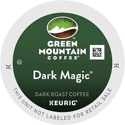 Green Mountain® Dark Magic Coffee, Keurig® K-Cup® Pods, Dark Roast, 48/Box (81911)
