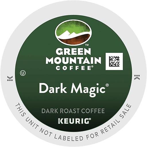 Green Mountain Coffee® Dark Magic® Extra Bold Coffee, K-Cup, 48 ...