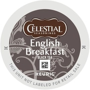 Celestial Seasonings® English Breakfast Black Tea, Keurig® K-Cup® Pods, 24/Box (14731)