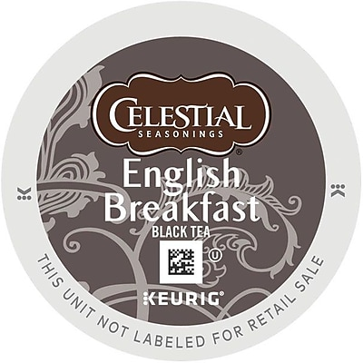 Celestial Seasonings® English Breakfast Black Tea, Keurig® K-Cup® Pods, 96/Carton (GMT14731CT)