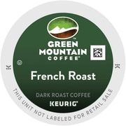 Green Mountain® French Roast Coffee, Keurig® K-Cup® Pods, Dark Roast, 24/Box (6694)