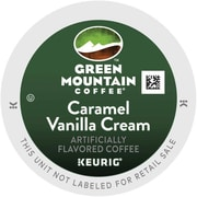 Keurig® K-Cup® Green Mountain® Caramel Vanilla Cream Coffee, Regular, 96 Pack