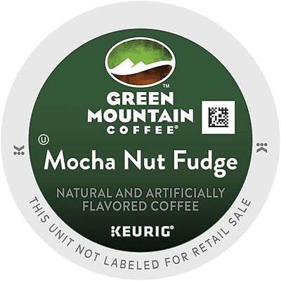 Keurig K-Cup Green Mountain Mocha Nut Fudge Coffee, 96/Carton (6752)