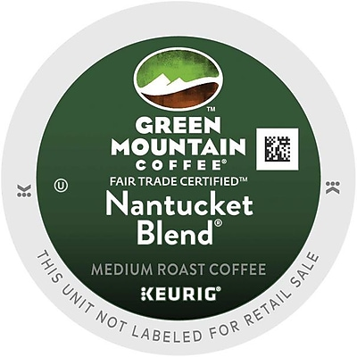 Green Mountain® Nantucket Blend Coffee, Keurig® K-Cup® Pods, Medium Roast, 96/Carton (GMT6663CT)