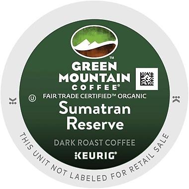 Keurig® K-Cup® Green Mountain® Sumatran Reserve Coffee, 18 Count