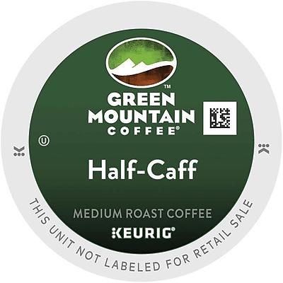Green Mountain® Half-Caff Coffee, Keurig® K-Cup® Pods, Medium Roast, 48/Box (357446)