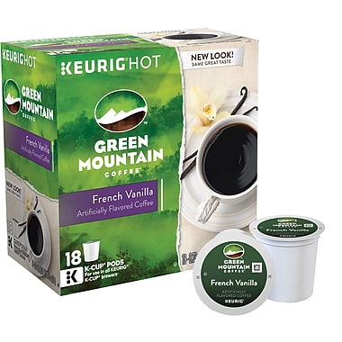 Keurig® K-Cup® Green Mountain® French Vanilla Coffee, Regular, 18 Pack