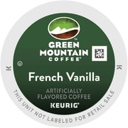 Green Mountain® French Vanilla Coffee, Keurig® K-Cup® Pods, Light Roast, 24/Box (6732)