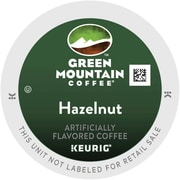 Green Mountain® Hazelnut Coffee, Keurig® K-Cup® Pods, Light Roast, 24/Box (6792)