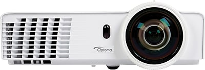 Optoma GT760A Short Throw Gaming Projector, 3200 lumens, 6 lbs.