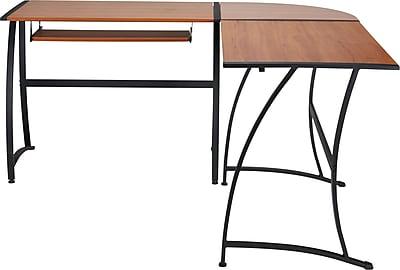 Staples Gillespie L-Shaped Desk
