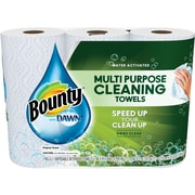 Bounty® with Dawn Paper Towels, 49 Sheets, 3/Pack (92379)