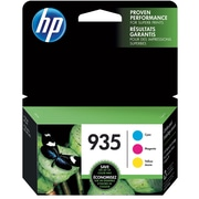 HP 935 C/M/Y Color Ink Cartridges (N9H65FN#140), Combo 3/Pack