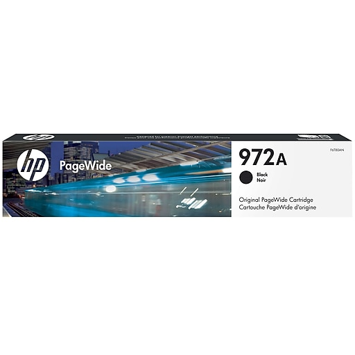 HP 972A Black PageWide Cartridge (F6T80AN)