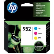 HP 952 C/M/Y Color Ink Cartridges (N9K27AN#140), Combo 3/Pack