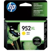 HP 952XL Yellow Ink Cartridge, High Yield (L0S67AN#140)