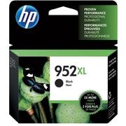HP 952XL Black Ink Cartridge, High Yield (F6U19AN#140)