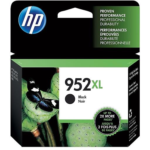 HP 952XL Black High-Yield Ink Cartridge (F6U19AN)