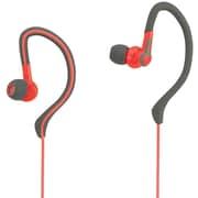 Avia AV-AB1002R Wired In-Ear Hook Sports Earphone, Red