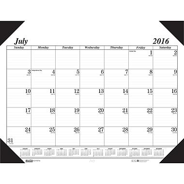 2016-2017 House of Doolittle, Economy Academic Desk Pad, 22