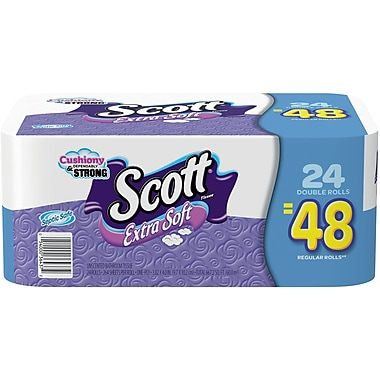 Staples: $8.99 Double Roll Sco...