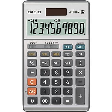 Casio® JF-100BM 10-Digit Display Calculator