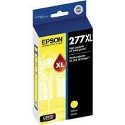Epson T277XL Yellow Ink Cartridge, (T277XL420-S), High Yield