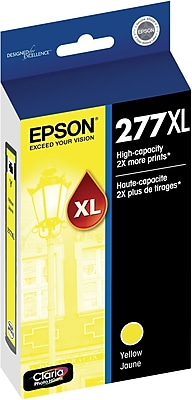 Epson (T277XL420-S) Yellow Ink Cartridge, High Yield