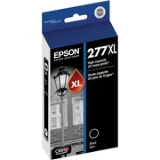 Epson T277XL Black Ink Cartridge, (T277XL120-S), High Yield