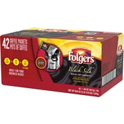 Folgers® Black Silk Coffee, 1.4 oz. Fraction Pack, 42/Case