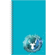 August 2016 - July 2017, Brownline® Daily Academic Planner, 8 x 5, Blue (CA201PA.82T)