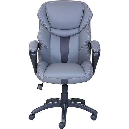 dormeo espo octaspring faux leather managers office chair fixed