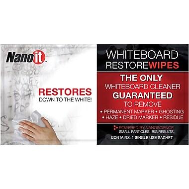 Nano-It Whiteboard Restore Wipes 1-pack