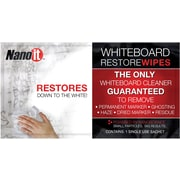 Nano-It Whiteboard Restore Wipes 1-pack