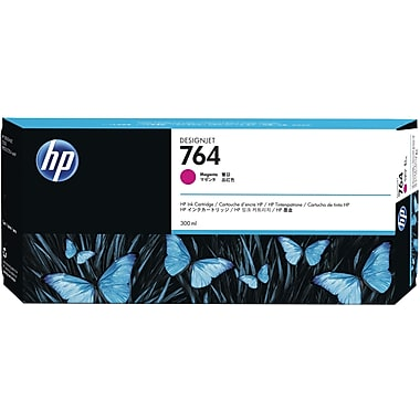 HP 764 300ML Magenta DesignJet Ink Cartridge, C1Q14A