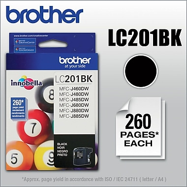 Brother LC201BKS Black Ink, LC201BKS