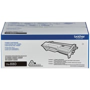 Brother Genuine TN880 Black Super High Yield Original Laser Toner Cartridge